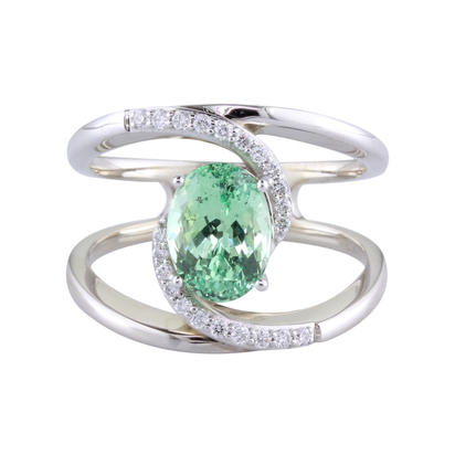 Ladies Gemstone Ring by Parle