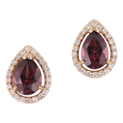 Gemstone Earrings by Parle