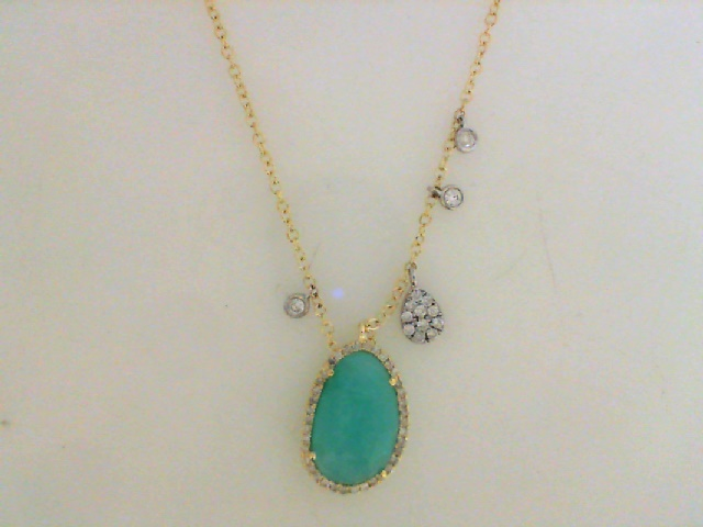 Gemstone Necklace by Meira T.