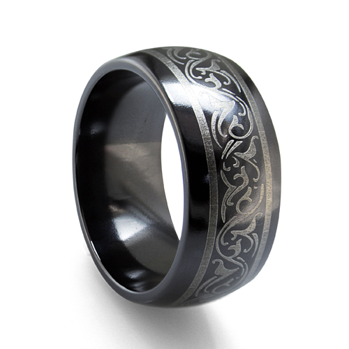 Titanium/Tungsten Band by Edward Mirell