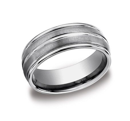 Titanium/Tungsten Band by Benchmark