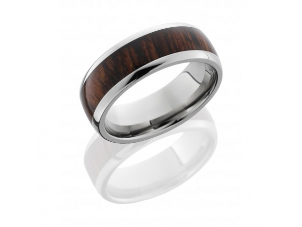 Titanium/Tungsten Band by Lashbrook Designs